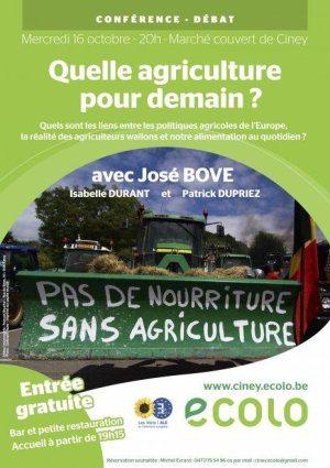 «Quel agriculture pour demain?»